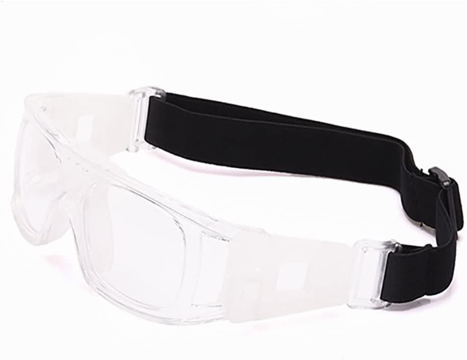 Professional Sports Goggles Protective Safety Goggles Basketball Glasses for Men with Adjustable Strap for Basketball Football Volleyball Hockey Rugby Transparent - - Amazon.com