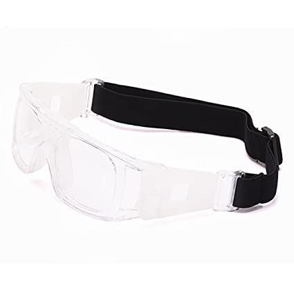 3b317970341 Professional Sports Goggles Protective Safety Goggles Basketball Glasses  for Men with Adjustable Strap for Basketball Football