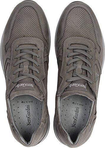 800235 Giardini Nero Cemento Scarpa Uomo NEOPOLIS Sneaker ZzrrdnYTq