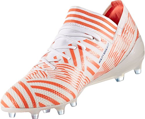 Soccer Nemeziz Orange Cleats US 1 FG White Women's 17 Adidas BqFXOX