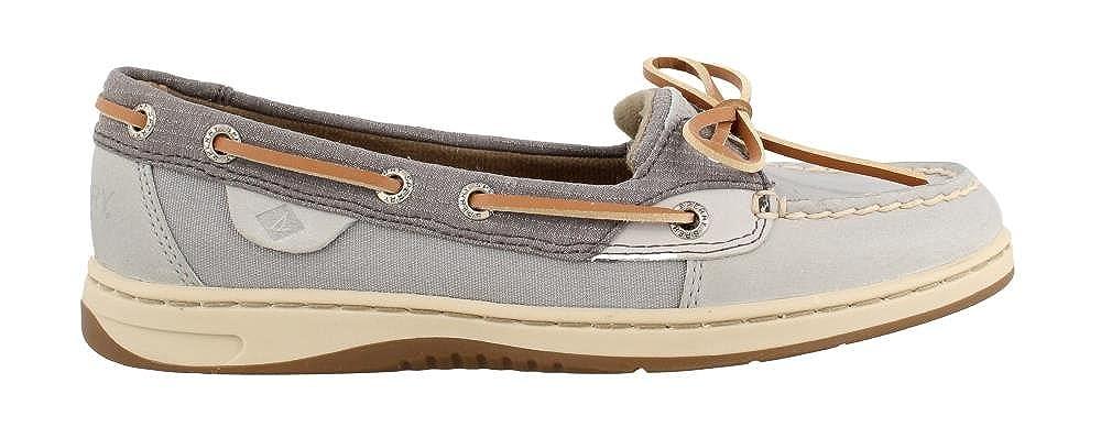 Sperry Women S Angelfish Boat Shoes Grey Mesh 9 M