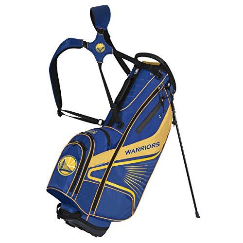 State Golf Stand - Team Effort NBA Golden State Warriors Gridiron III Stand Bag