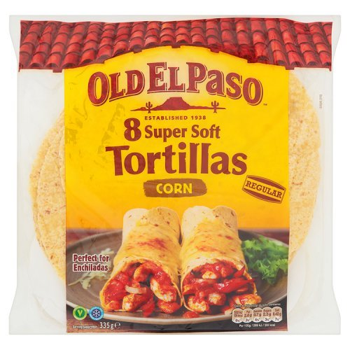 Old El Paso - 6 Tortillas - Large Super Soft - 350g: Amazon.es: Alimentación y bebidas