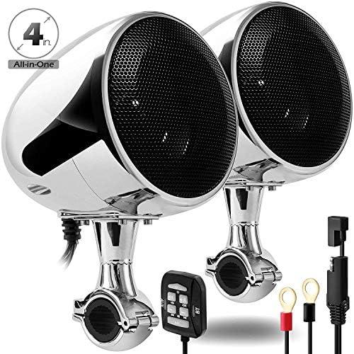 GoldenHawk Waterproof Bluetooth Motorcycle Handlebar product image