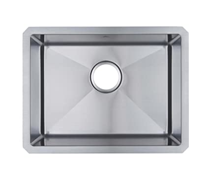 Starstar 21 X 16 Single Bowl Undermount Kitchen Sink 304 Stainless ...