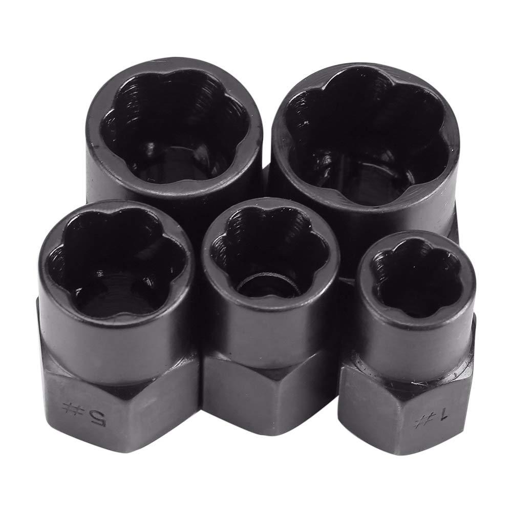 Douilles de 9-19mm pour Retirer les /Écrous Subtop 10 pi/èces Extracteurs d/écrous Boulons et Vis Endommag/és