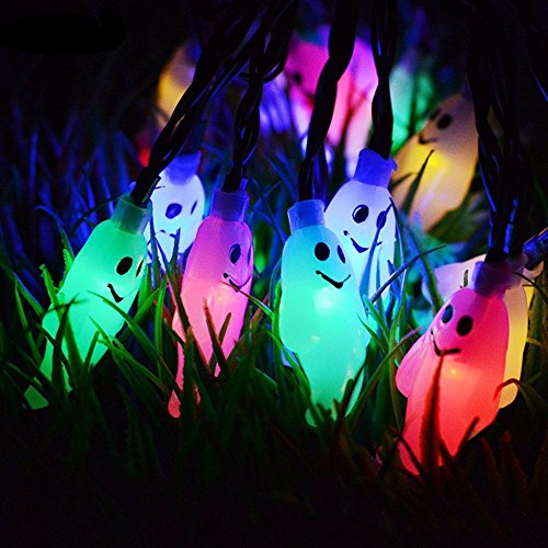FuriGer Solar Garden string Lights, Outdoor Color Changing Solar Powered Glass Ball 20Led Party Light Outdoor Indoor Waterproof Solar Night Light Table Lamp for Decorations Ideal Gifts by FuriGer (Image #8)