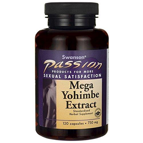 Extrait de Mega Yohimbe 750 mg 120 capsules