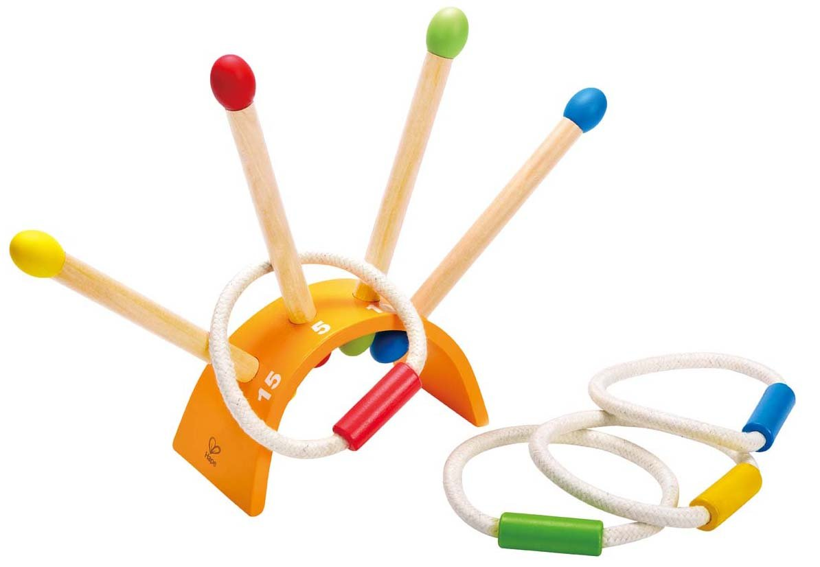 Hape The Ringer Wooden Ring Toss Game by Hape