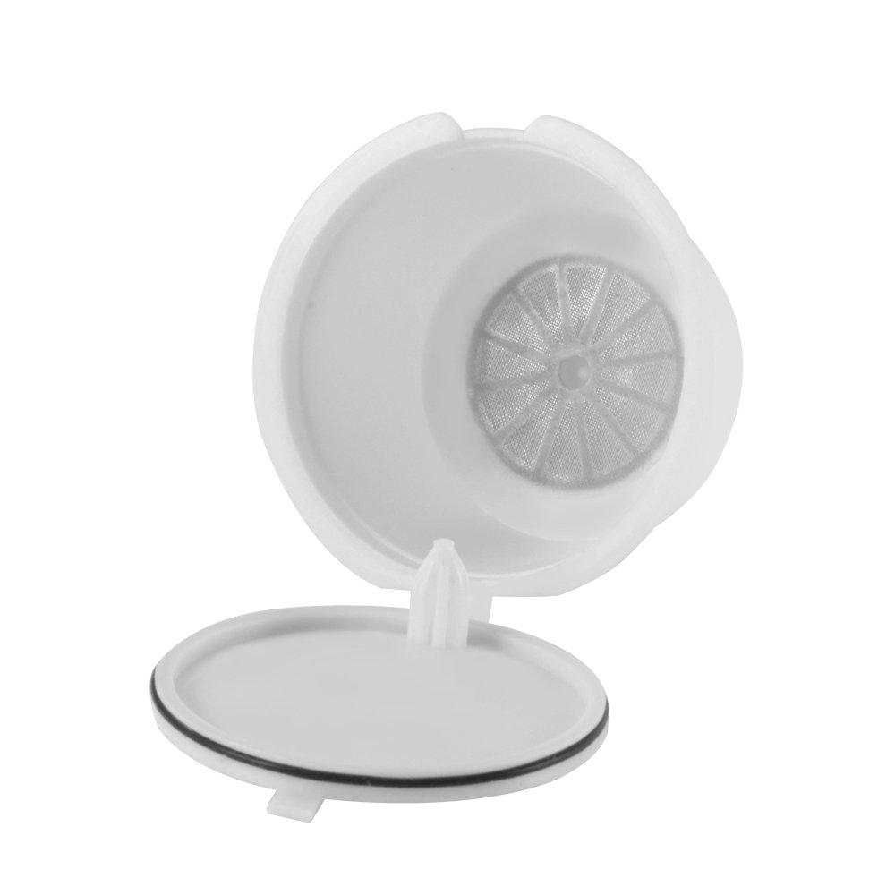 HaavPoois Filtro De C/ápsula De Caf/é De 3 Piezas Filtro De Taza De C/ápsula Reutilizable Hecho De Materiales Ecol/ógicos Adecuado Para Nestl/é Dolce Gusto