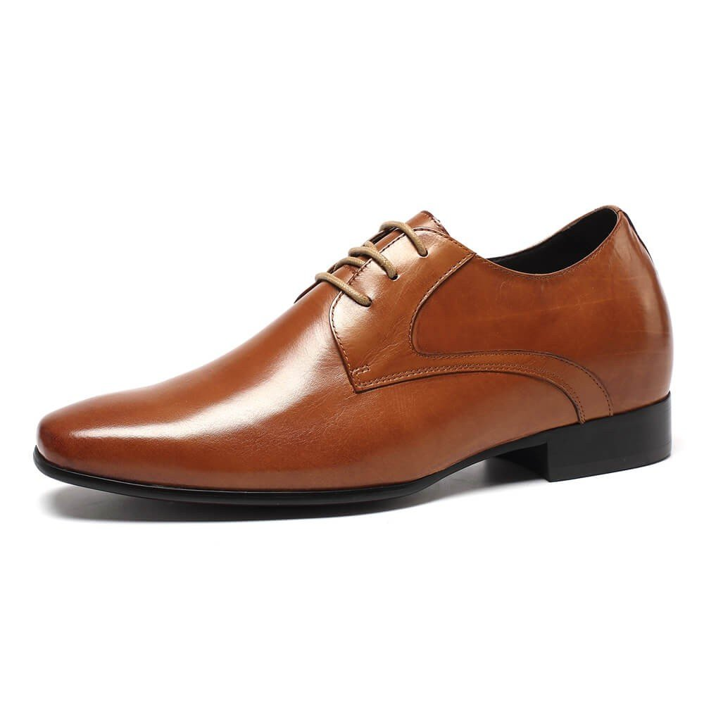 Chamaripa Men Oxford Wingtip Dress Shoes 2.76'' Taller Elevator Shoes D08K02 US 10 by CHAMARIPA
