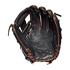 """The new A2K 1787 is the perfect glove no matter where you play on the infield. Built at 11.75"""", it's popular for middle infielders and third basemen and features a shallow pocket that allows for a longer range and is often broken in with a fl..."""