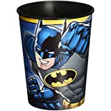 DesignWare Batman Plastic Cup, 16-Ounce, Multicolor