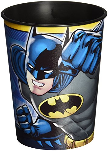 DesignWare Batman Plastic Cup, 16-Ounce, Multicolor -