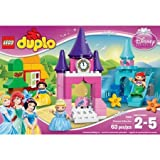 LEGO DUPLO Kids Playset Princess Disney Princess Collection Building Set