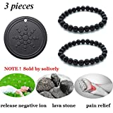 Product review for Anti Radiation Shield EMF Neutralizer Negative Ions Energy Pendant & Magnetic Therapy Bracelet Pain Relief for men and women(one pack pendant and two pack bracelets)
