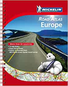 michelin road atlas europe atlas michelin michelin 9782067173682 books. Black Bedroom Furniture Sets. Home Design Ideas