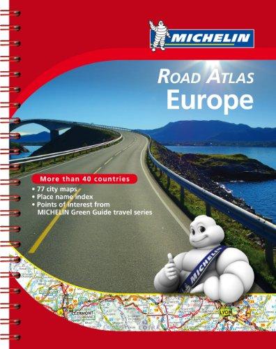 Michelin Road Atlas Europe (Atlas (Michelin))