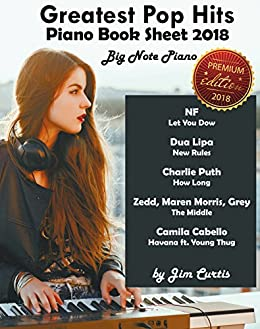 Greatest pop hits piano book sheet 2018 big note piano piano book greatest pop hits piano book sheet 2018 big note piano piano book piano fandeluxe Images