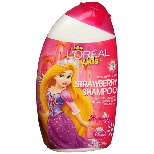 Orange Blossom Gel Perfume (L'Oreal Kids Extra Gentle 2-in-1 Shampoo, Rapunzel / Strawberry, 9 Ounce, (Pack of 4))