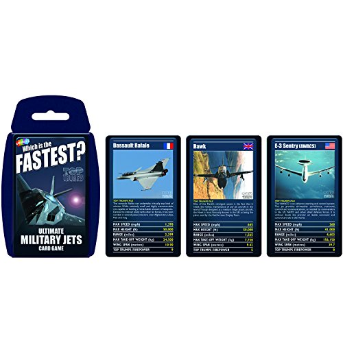 Ultimate Military Jets Top Trumps Card Game | Educational...
