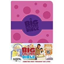 Big Picture Interactive Bible for Kids, Girls Duotone LeatherTouch: Connecting Christ Throughout God's Story
