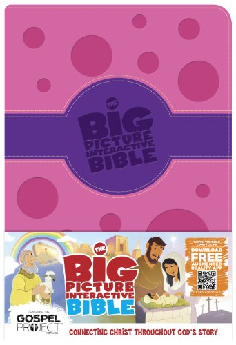 The Big Picture Interactive Bible for Kids, Purple/Pink Polka Dot LeatherTouch: Connecting Christ Throughout God's Story (The Big Picture Interactive / The Gospel Project) Imitation Leather – March 1, 2014