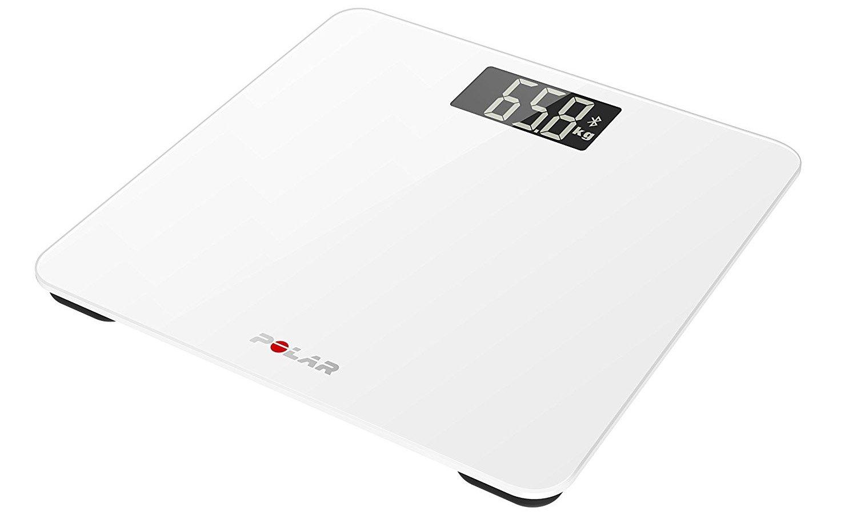 活動量計と連動した体重計管理システム Polar Balance(Bluetooth Smart) ホワイト   B019BYB6D0