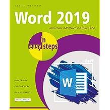 Word 2019 in easy steps