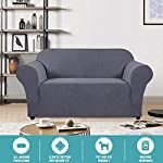 Stylish Lycra Jacquard Sofa Cover for Living Room High Stretch Sofa Cover/Protector Furniture Protector Cover for Sofa…