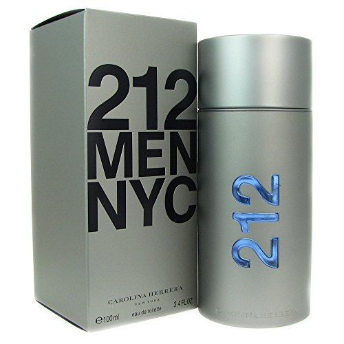 212 For Cologne Men - 212 by Carolina Herrera for men 3.4 oz Eau De Toilette EDT Spray