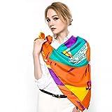 WANG&LIANGLadies scarf silk square scarf silk scarf shawl scarves shawls winter gift gift box