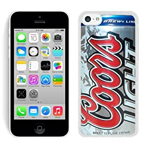 Beautiful Designed Case With coors light beer can White For iPhone 5C Phone Case