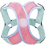 Gooby Choke Free Perfect Fit X Harness for Small Dogs, Small, Pink