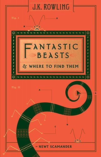 Fantastic Beasts and Where to Find Them (Hogwarts Library Book) (Harry Potter)