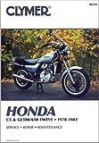 M335 Clymer Honda CX GL500 650 1978-1983 Motorcycle Repair Manual