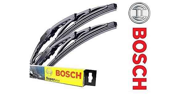 Bosch Super + Protector de parabrisas limpiaparabrisas delanteras de ...
