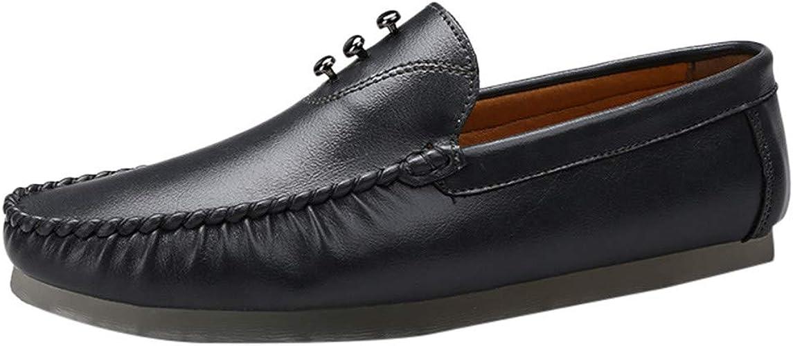 DY.LIN Mocassins Chaussures d'affaires Hommes Couleur Unie