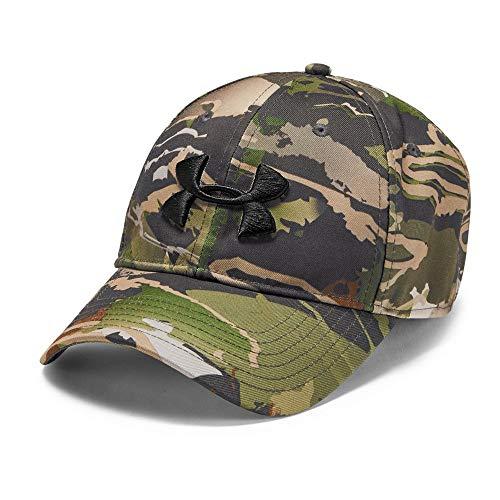 (Under Armour Men's Camo Cap 2.0, Ua Forest Camo (940)/Black, One Size)