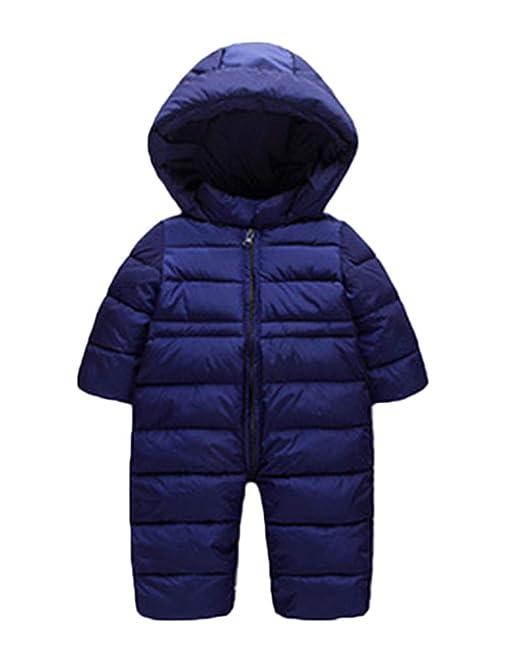 Shaoyao Bebé Niños Niñas Traje de Nieve Abrigo con Zapatos ...