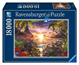 Ravensburger Paradise Sunset 18,000 Piece Jigsaw Puzzle for Adults - Softclick Technology Means Pieces Fit Together Perfectly