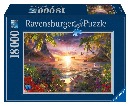 paradise sunset jigsaw puzzle 18000 piece buy online in. Black Bedroom Furniture Sets. Home Design Ideas