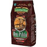 2LB Cafe Don Pablo Decaf Swiss Water Process Colombian Gourmet Coffee Decaffeinated - Medium-Dark Roast - Whole Bean Coffee - 2 Pound (2 lb) Bag