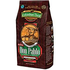 Don Pablo Decaf Swiss Colombian Gourmet Coffee Decaffeinated (Our Best Tasting Decaf Coffee)