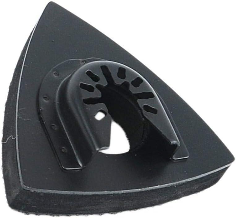 7,6 cm Pour pon/çage du bois KingBra Coussinets de pon/çage universels triangulaires oscillants Avec papier abrasif multi-outils