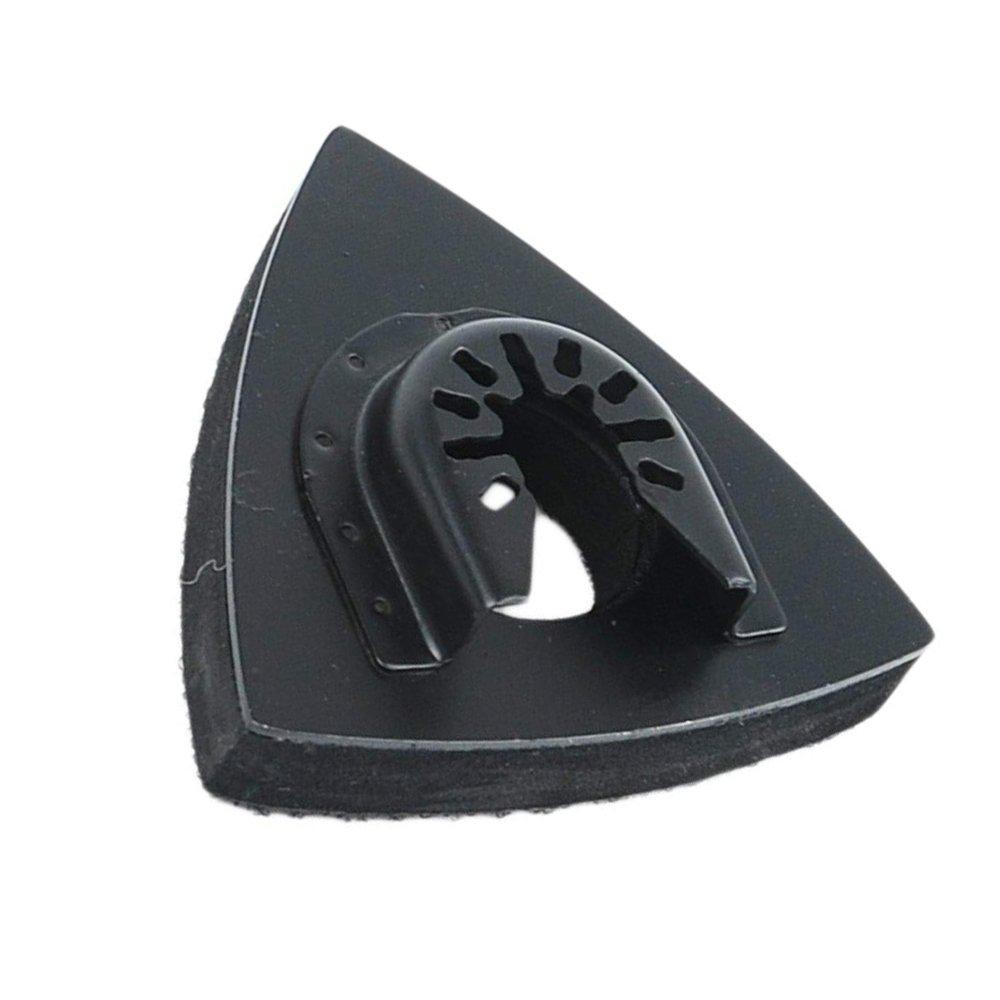 3-1//8 Inch Universal Triangular Hook /& Loop Oscillating Multitool Sanding Pads for Wood Sanding Used with Multi Tool Sandpaper