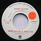 HErb Alpert & The T.J.B. 45 RPM Coney Island / Ratatouille