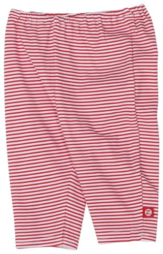 Zutano Candy Stripe Legging, Red, 3 Months