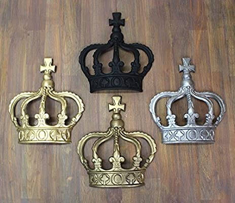 """King Crown Queen Prince Wall Art Princess England /"""" Choose Color After Buying /"""""""