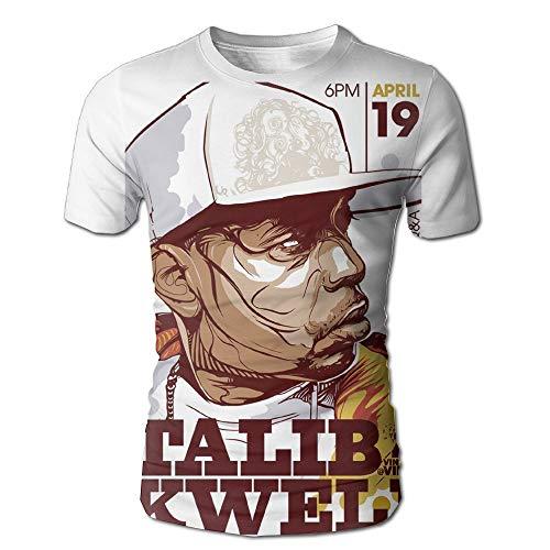 Corrine-S Mens Tee-Classic Talib Kweli White XXL